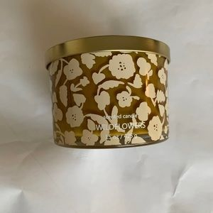 Three wick wildflower candle